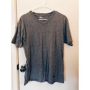 Stüssy V Neck T-Shirt